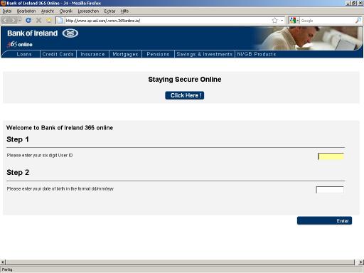Bank Of Irelnad 365