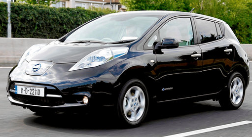 Nissan Leaf (Copyright The Irish Times)