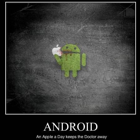 Android Eats Apple