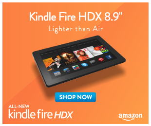 Kindle Fire HDX Advertisement